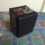 【サプライレビュー】UltraProのデッキタワーボックスを買ってみた。