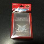 【遊戯王 サプライレビュー】 公式のデュエリストカードケースを買ってみた。