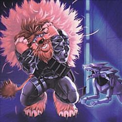 Kozmo Scaredy Lion